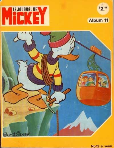 (RECUEIL) MICKEY (LE JOURNAL DE) (ALBUM) - Album n°11  - Tome 11 - Grand format