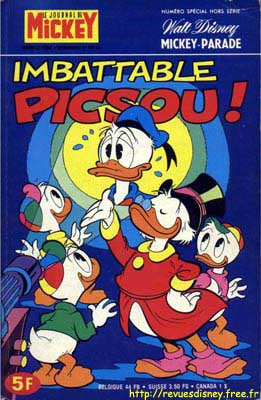 MICKEY PARADE - Imbattable Picsou!  - Tome 1301 (bis) - Moyen format