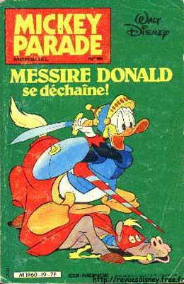 MICKEY PARADE - Messire Donald se déchaîne!  - Tome 19 - Moyen format