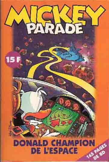 MICKEY PARADE - Donald champion de l'espace  - Tome 224 - Grand format