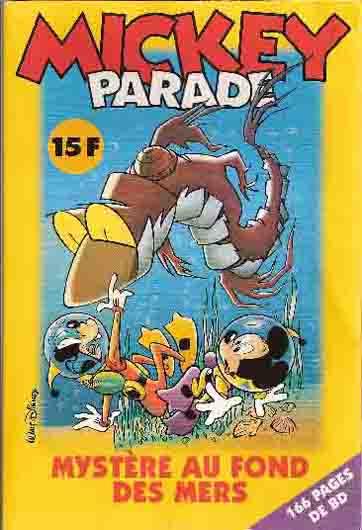 MICKEY PARADE - Mystère au fond des mers  - Tome 227 - Moyen format