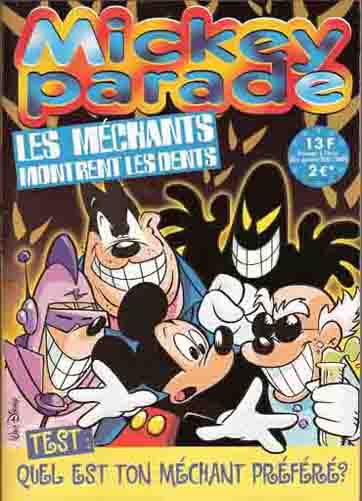 MICKEY PARADE - Les méchants montrent les dents  - Tome 258 - Grand format