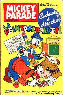 MICKEY PARADE - La peinturlucarte!  - Tome 43 - Moyen format