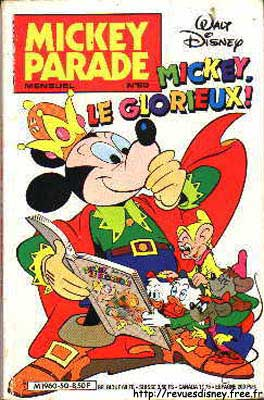 MICKEY PARADE - Mickey, le glorieux!  - Tome 50 - Moyen format