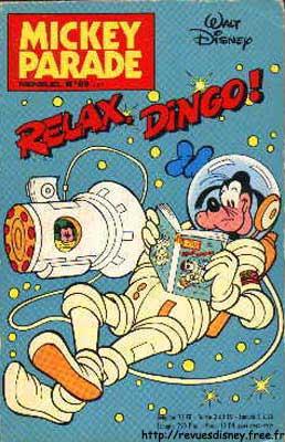 MICKEY PARADE - Relax, Dingo!  - Tome 89 - Moyen format