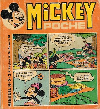 MICKEY POCHE - Clarabelle  - Tome 5 - Moyen format
