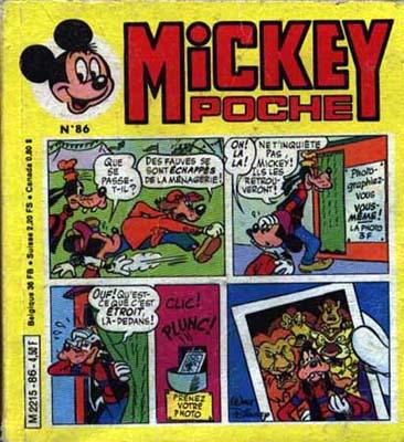 MICKEY POCHE - Le roi léonidus  - Tome 86 - Moyen format