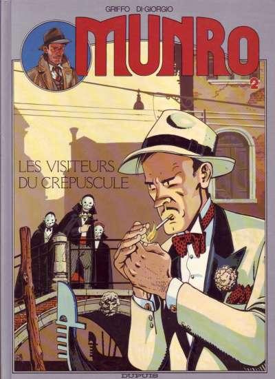 MUNRO - Les visiteurs du crépuscule  - Tome 2 - Grand format