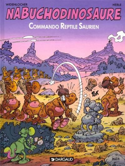 NABUCHODINOSAURE - Commando reptile saurien  - Tome 5 (a) - Grand format