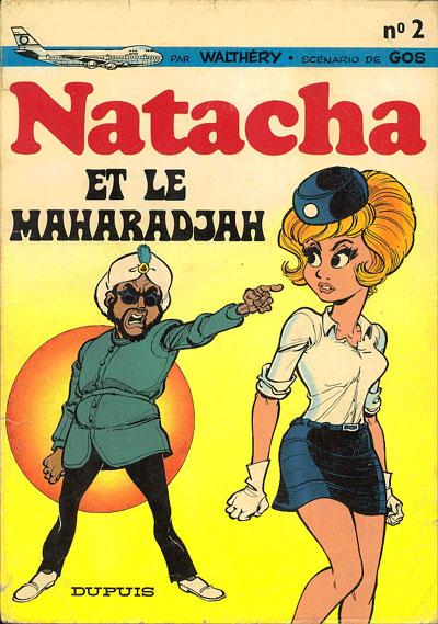 NATACHA - Natacha et le Maharadjah  - Tome 2 (a) - Grand format