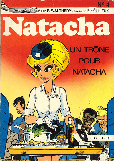 NATACHA - Un trône pour Natacha  - Tome 4 - Grand format