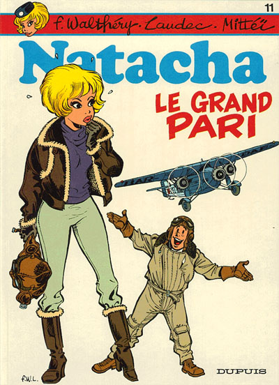 NATACHA - Le grand pari  - Tome 11 - Big format