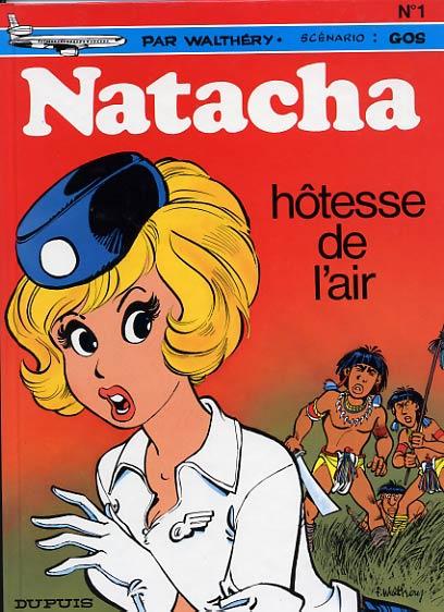 NATACHA - Hôtesse de l'air  - Tome 1 (b) - Grand format