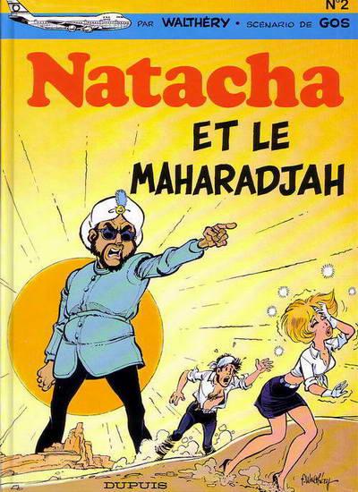 NATACHA - Natacha et le Maharadjah  - Tome 2 (b) - Grand format