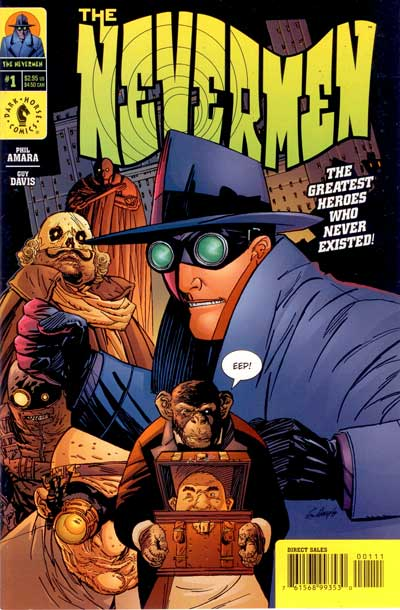 Nevermen (The)  -  All the bad things  - Tome 1