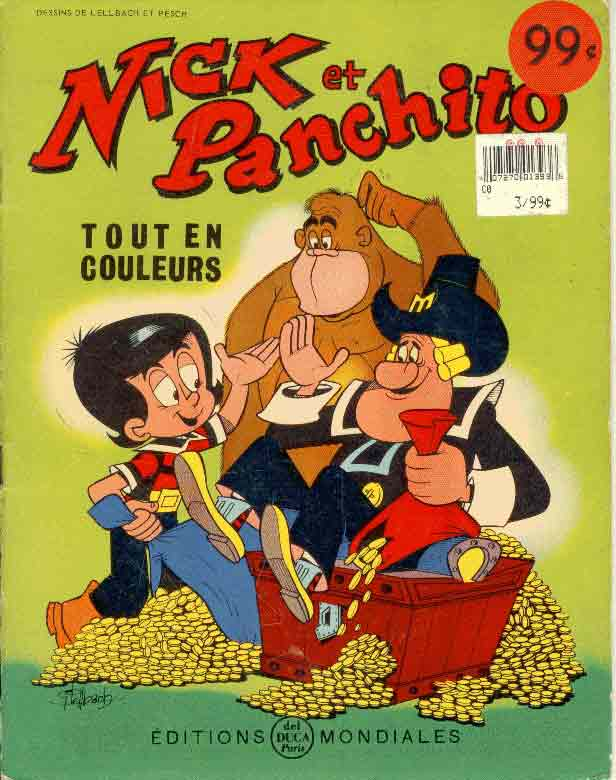 NICK ET PANCHITO - Sac de cinq-Louis (Le)  - Tome 5 - Grand format