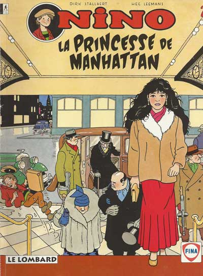 NINO - La princesse de Manhattan  - Tome 2 (FINA) - Grand format