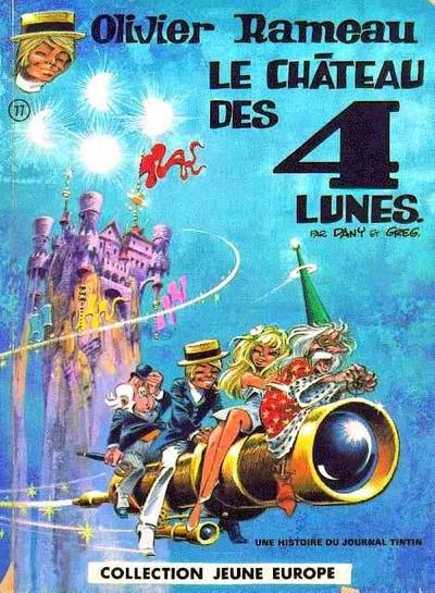 OLIVIER RAMEAU - Le château des 4 lunes  - Tome 3 - Grand format