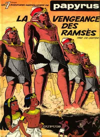 PAPYRUS - La vengeance des Ramsès  - Tome 7 - Grand format