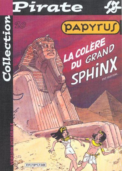 PAPYRUS - La colère du grand Sphinx  - Tome 20 (pir) - Grand format
