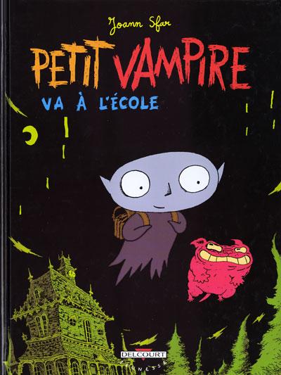 PETIT VAMPIRE - Petit vampire va à l'école  - Tome 1 (a) - Grand format