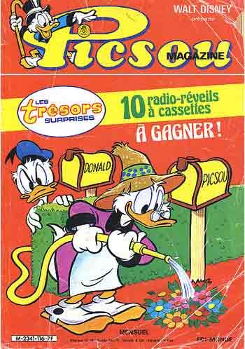 PICSOU MAGAZINE - Picsou Magazine N°116  - Tome 116 - Grand format