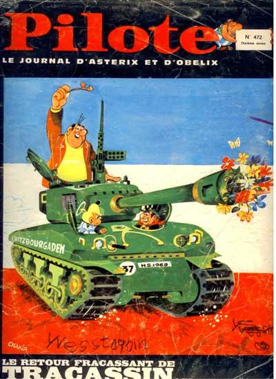 (REVUE) PILOTE (LE JOURNAL D'ASTÉRIX ET OBÉLIX) - Tracassin  - Tome 472 - Grand format