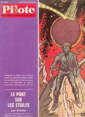 (REVUE) PILOTE (LE JOURNAL D'ASTÉRIX ET OBÉLIX) - Le pont sur les étoiles  - Tome 569 - Grand format
