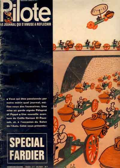 (REVUE) PILOTE (LE JOURNAL D'ASTÉRIX ET OBÉLIX) - Spécial Fadier  - Tome 571 - Grand format