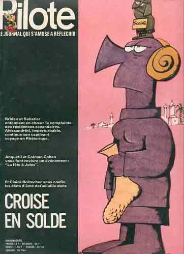 (REVUE) PILOTE (LE JOURNAL D'ASTÉRIX ET OBÉLIX) - Croisé en solde  - Tome 614 - Grand format