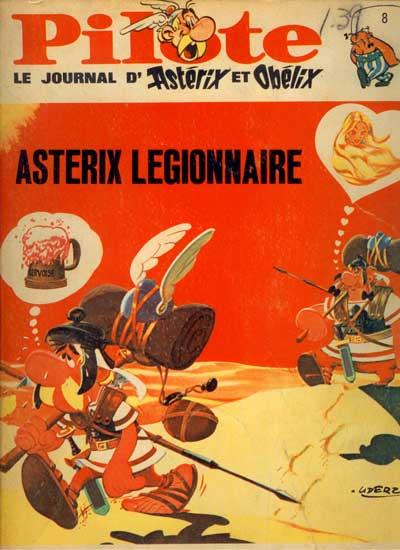 (RECUEIL) PILOTE (ALBUM DU JOURNAL - EDITION BELGE - Astérix légionnaire  - Tome 8 - Grand format