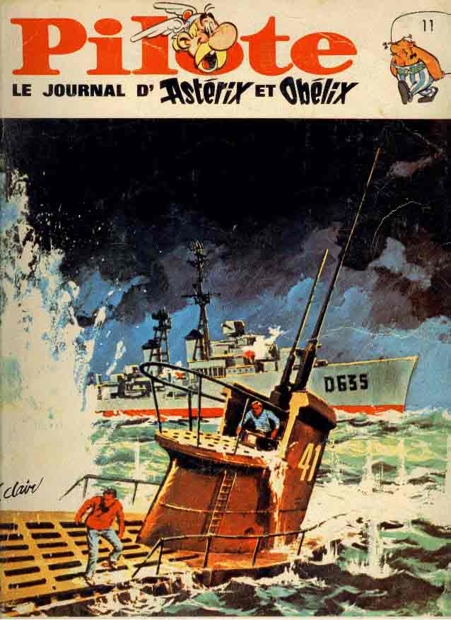 (RECUEIL) PILOTE (ALBUM DU JOURNAL- EDITION BELGE) - Reliure n°11  - Tome 11 - Grand format