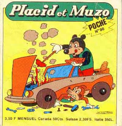 PLACID ET MUZO (POCHE) - N° 98  - Tome 98 - Moyen format