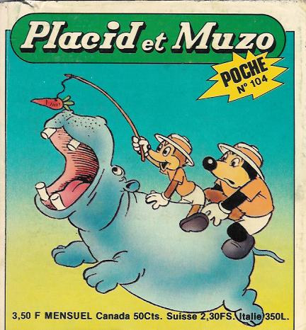 PLACID ET MUZO (POCHE) - N° 104  - Tome 104 - Moyen format