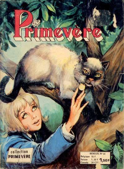 PRIMEVÈRE - La maison des chats  - Tome 44 - Moyen format