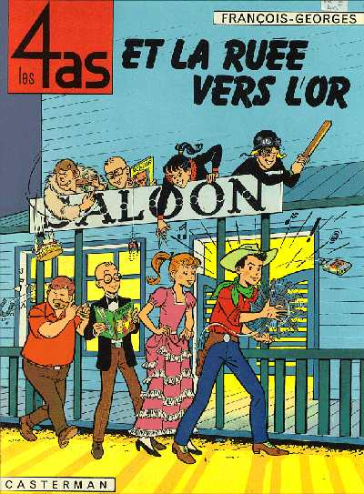 4 AS (LES) - Les 4 as et la ruée vers l'or  - Tome 11 - Grand format