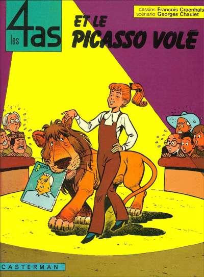 4 AS (LES) - Les 4 as et le Picasso volé  - Tome 12 (a) - Grand format