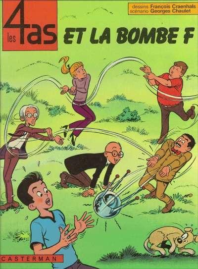 4 AS (LES) - Les 4 as et la bombe F  - Tome 13 (b) - Grand format