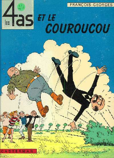 4 AS (LES) - Les 4 as et le couroucou  - Tome 5 - Grand format