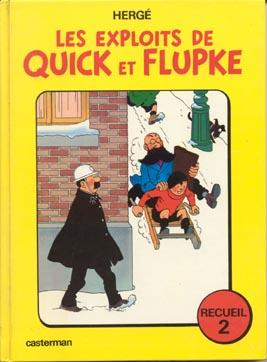 QUICK ET FLUPKE - Recueil 2  - Tome 2 - Grand format