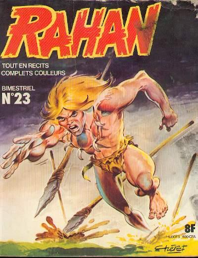 RAHAN (VAILLANT 1) - Le demon de paille/Le ''quatre-jambes''/Les ''longues jambes''  - Tome 23 - Big format