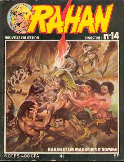 RAHAN (VAILLANT 2) - Les hommes sans tête/Les mangeurs d'hommes/Celui qui fait des nuages  - Tome 41 (14) - Big format