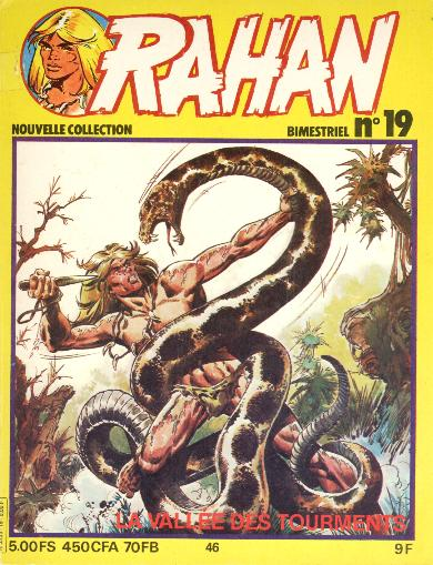 RAHAN (VAILLANT 2) - La vallée des tourments  - Tome 46 (19) - Big format