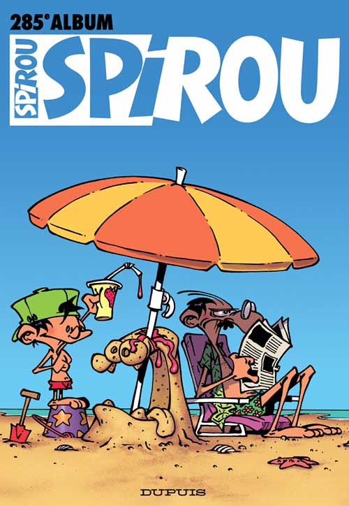 (Recueil) Spirou (Album du journal)  -  Spirou album du journal  - Tome 285