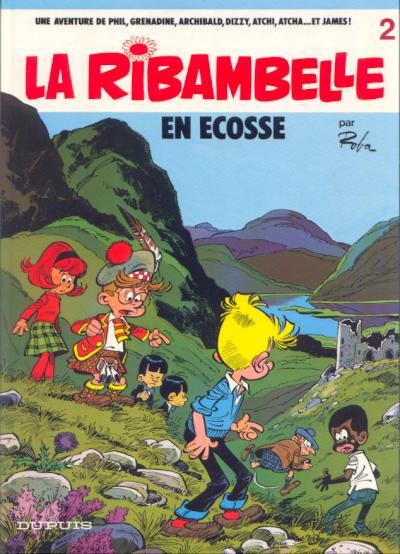 RIBAMBELLE (LA) - La ribambelle en Ecosse  - Tome 2 (b) - Grand format
