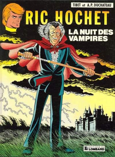 RIC HOCHET - La nuit des vampires  - Tome 34 - Grand format