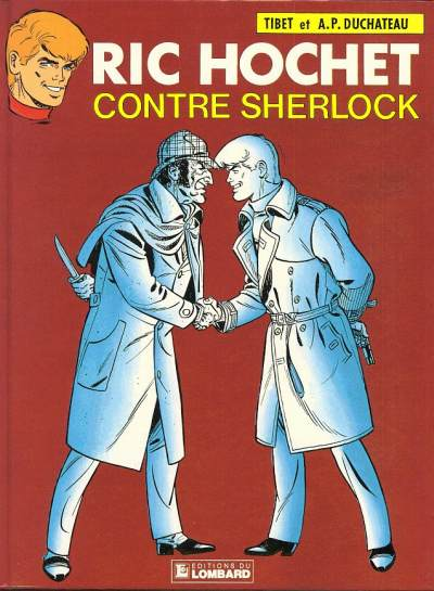 RIC HOCHET - Ric Hochet contre Sherlock  - Tome 44 - Grand format