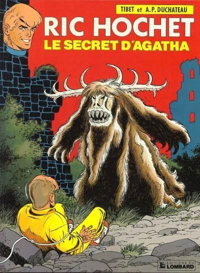 RIC HOCHET - Le secret d'Agatha  - Tome 48 - Grand format