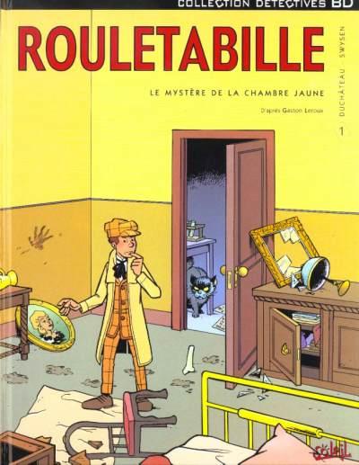 ROULETABILLE (SOLEIL) - Le mystère de la chambre jaune  - Tome 1 - Grand format