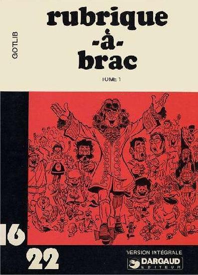 RUBRIQUE-À-BRAC (16/22) - Tome 1 (I)  - Tome 1 (6) - Grand format
